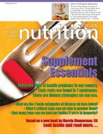 Looking At Scientific Evidence For Nutritional Supplements in a Different Way