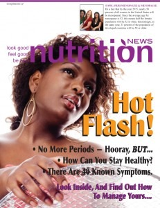 Soy Foods Can Help Reduce Hot Flashes